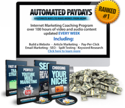 Automated PayDays Review by Jamie Shaw
