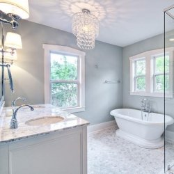 Bathroom Chandelier Lighting Ideas a guide to bathroom chandeliers for a quick and easy way to dress