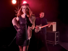 Jennifer Ward-Lealand performs at the Auckland Town Hall
