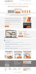 B2B Website Design Example