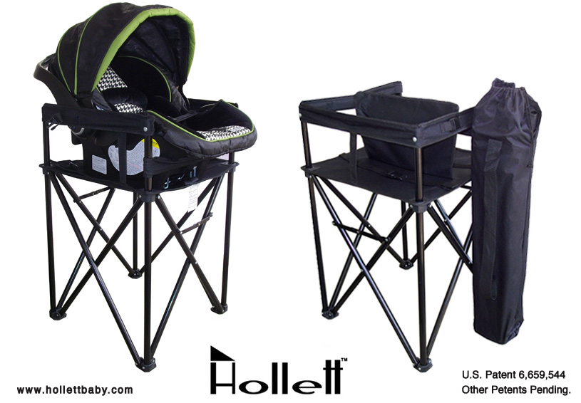 The Hollett Travel Dual Mate Highchair