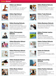 OnlineSchool.com home page