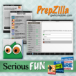 gWhiz Updates Mobile Test Prep App, PrepZilla, With New Zombies! Self-Study Game