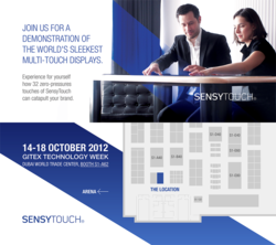 SensyTouch Multi-touch Solutions GITEX Invitation