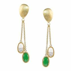 Urban Posh Stardust Double Drop Earrings on Gallery Atlantic