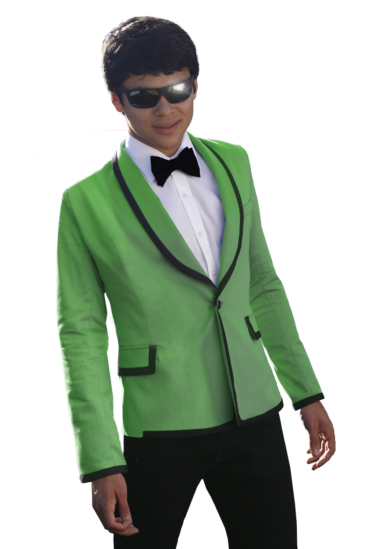 Lime Green Tuxedo