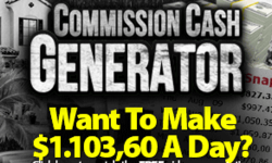Commission Cash Generator Review by JP