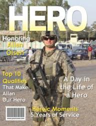 Hero Personalized Magazine Cover