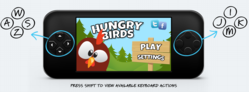 """Hungry Birds"" gaming app prototype demo"