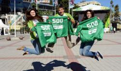 Celebrations for 500 Days to the Olympic Winter Games in Sochi Took Place Right Across Russia