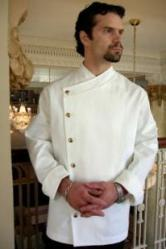 Crooked Brook Chef Coat Style BSM105