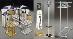 Glaro Inc. Umbrella Stands, Wet Umbrella Bag Stands, Coat Trees, &amp; Wardrobe Racks