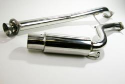 CorkSport 2004-2008 Mazda RX-8 Single Exit Exhaust