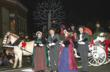 Carolers appear every weekend during the Gatlinburg Winter Magic holiday celebration.