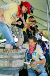 Sonoma County Harvest Fair Grape Stomp