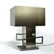 Cubist Lamp by Thomas Schoos