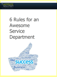 6 Rules for an Awesome Service Department