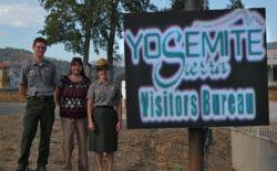 Yosemite digital display sign