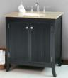 "Virtu LS-1031 - Strasbourg 32"" - Bathroom Vanity In Black"