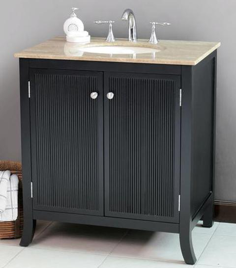 A Guide To Black Vanities For An Easy Modern Twist On Any