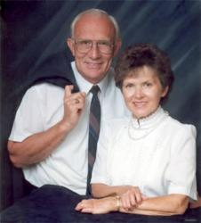 Virgil Stenberg and Helen Stenberg