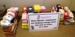 Vista Metals Corp, Shoes That Fit, Children in need, Shoe donation