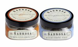 """Everything"" and ""Cumin-Cinnamon"" artisan blended Sabrosa Salts"