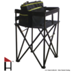 The Hollett™ travel highchair called the Travel Dual-Mate™ is a portable highchair for toddlers that may also be easily converted into an infant carrier stand.