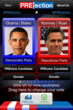 PRElection Presidential Vote Screen