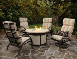 Homecrest Bellaire Fire Pit Set