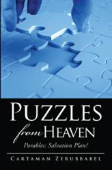 "Front cover ""Puzzles from Heaven"""