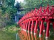 Bridge at Hoan Kiem Lake, Hanoi, Vietnam