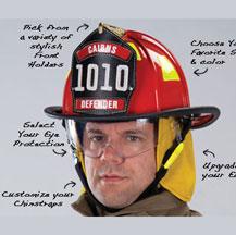 Custom Firefighter Helmets