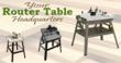 New Yonico Router Tables