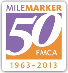 Family Motor Coach Association will celebrate its golden anniversary in 2013.
