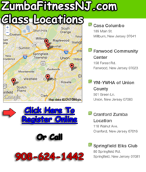 Zumba classes NJ