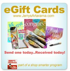 eGift Card from JerrysArtarama.com