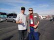 Kurt Busch with Ray Rhoades