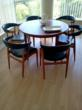 An example of items sold through Transition Squad's Consignment Store. Mid Century Danish Modern Teak Dining Table And 6 Chairs