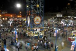 A photo of the Red River Revel, held in downtown Shreveport, La.