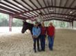 Plumwood Arena, an Allied Steel Building featured on Horse Master with Julie Goodnight