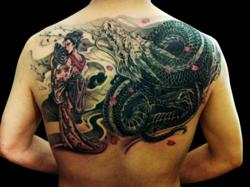 Asian Tattoo