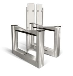 high security speedgate optical turnstile for lobby security