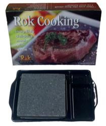 rok cooking, hot rock, stonegrill, black rock grill