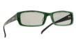 Green/Black 3Jazzle Passive 3D Glasses