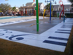 Award-winning Sundek Decorative Concrete