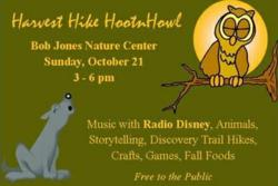 Have a howling good time with Radio Disney at the Bob Jones Nature Center
