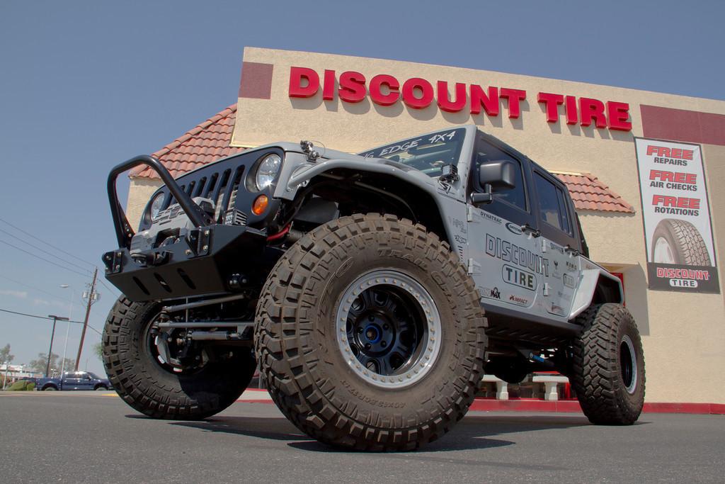 discount tire sponsors 2012 jk experience. Black Bedroom Furniture Sets. Home Design Ideas