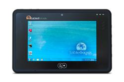 "eo a7400 7"" Tablet PC runs full Windows Professional or Linux Operating Systems"