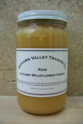 Raw Autumn Wildflower Honey